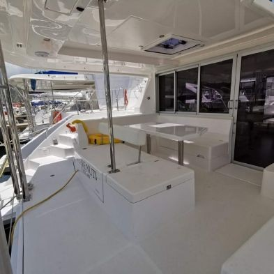 Used Sail Catamaran for Sale 2016 Leopard 40 Deck & Equipment